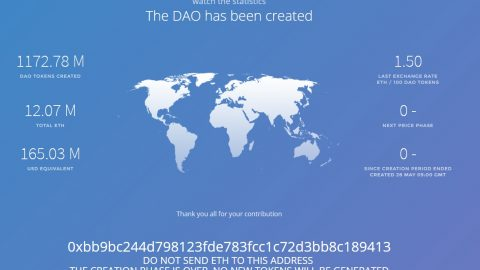 The DAO has been created. And a few legal, regulatory and tax issues also