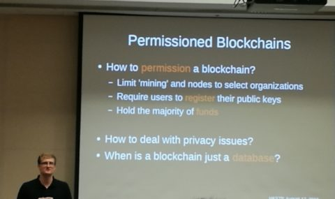 The Inner Workings of a Blockchain, Hong Kong