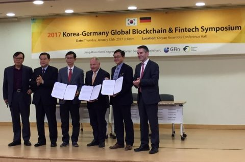 Korean-German MoU on Blockchain signed in Seoul