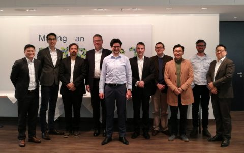 Kick-off meeting of the Korean-German Blockchain Working Group in Munich was a big success