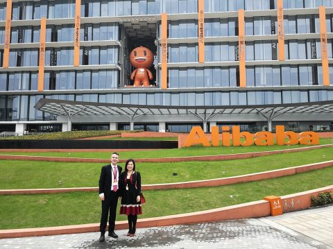 Visit of Alibaba and Ant Financial in Hangzhou, 26./27.03.2018