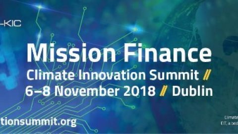 Climate Innovation Summit, Dublin, 06.-08.11.2018